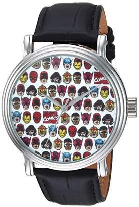 Marvel Men's 'Comics' Quartz Metal Casual Watch