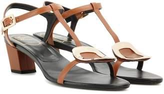 Roger Vivier Chips leather sandals