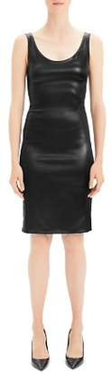Theory Faux Leather Dress