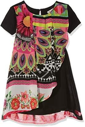 Desigual Girl's Vest_Bissau Dress,(Manufacturer Size: 3/4)
