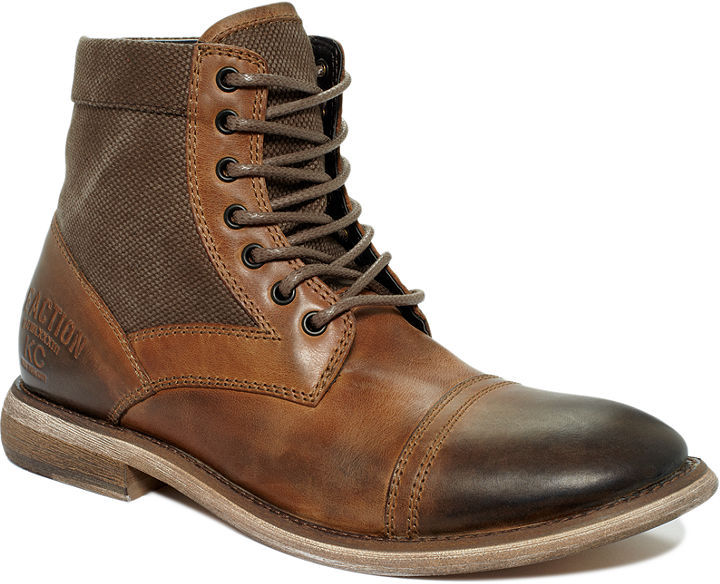 Kenneth Cole Reaction Boots, Craft Master Cap Toe Lace Boots