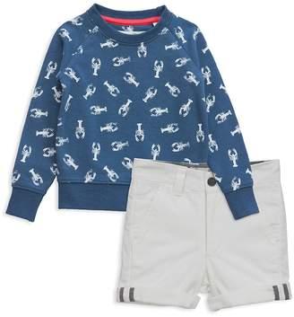 Sovereign Code Boys' Lobster Sweatshirt & Shorts Set