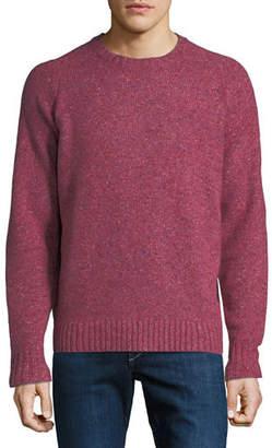 Peter Millar Men's Crown Vintage Saddle Crewneck Sweater