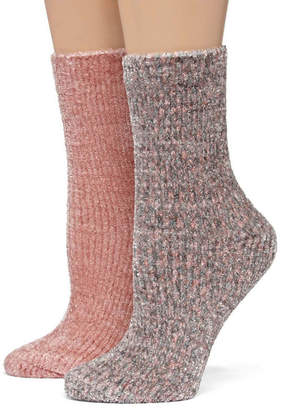 MIXIT Mixit 2 Pair Crew Socks - Womens