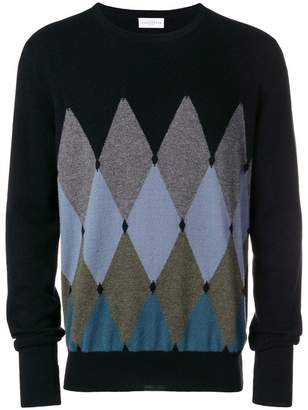 Ballantyne argyle sweater
