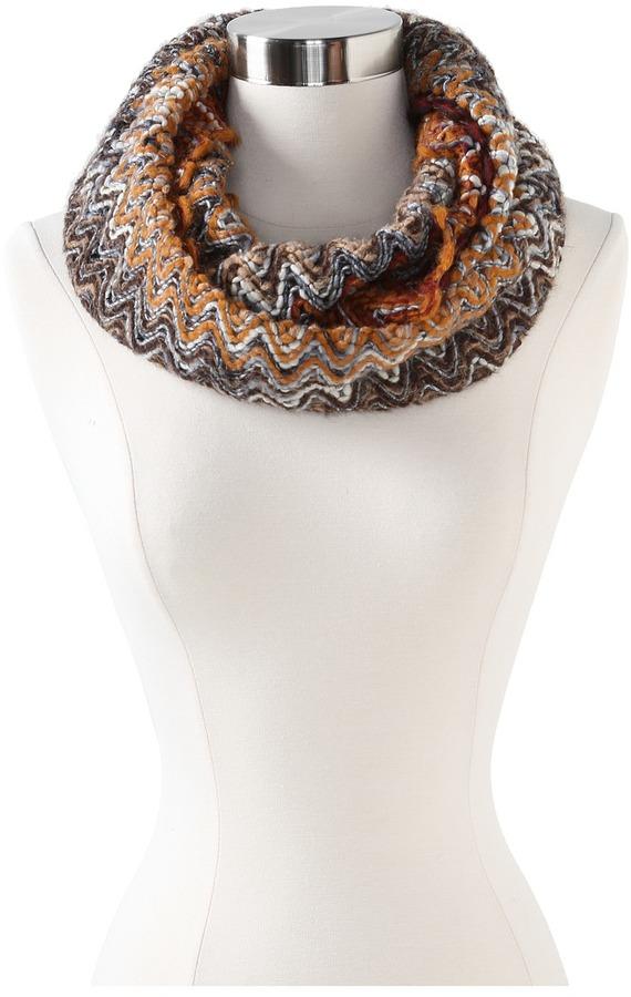 Missoni Desideria Infinity Scarf (Brown) - Accessories