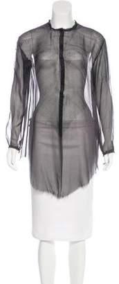 Raquel Allegra Silk Tie-Dye Tunic
