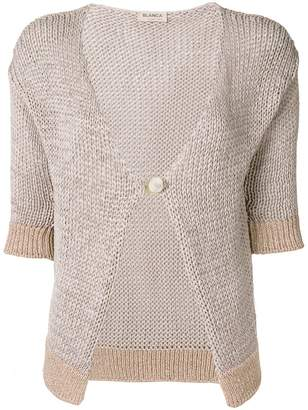 Blanca cropped sleeve cardigan