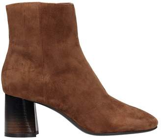 Lola Cruz Belinda Brown Suede Ankle Boot