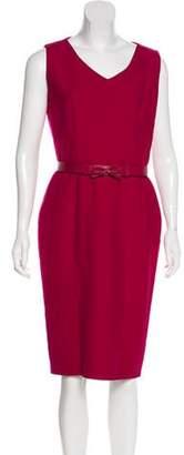 Christian Dior Sleeveless Midi Dress
