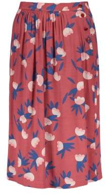 Des Petits Hauts Emiko Osaka Printed Viscose Crepe Skirt