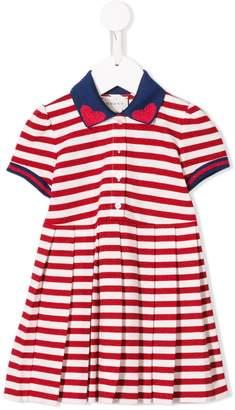 Gucci Kids striped knit dress