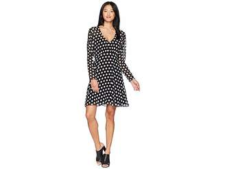 Juicy Couture All Over Dot Flirty Dress Women's Dress