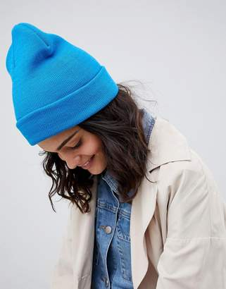 Asos DESIGN turn up beanie