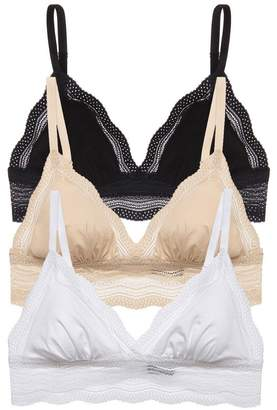 Cosabella Dolce Cotton Cup Bralette Basic Pack