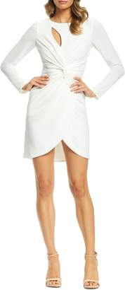 Dress the Population Coby Twisted Faux Wrap Cocktail Dress