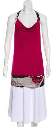 Ted Baker Silk-Trimmed Sleeveless Top w/ Tags
