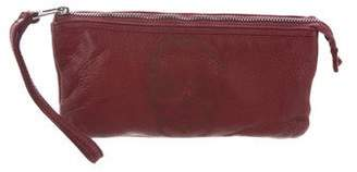 Zadig & Voltaire Grained Leather Wristlet