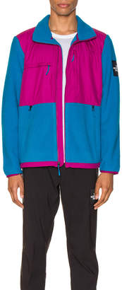 The North Face Black Box Denali Fleece Jacket in Acoustic Blue & Festival Pink | FWRD