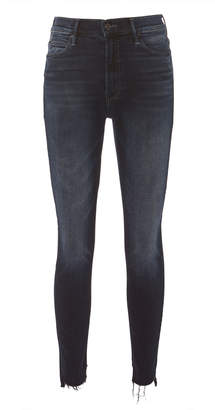 Mother Stunner Zip Two Step Fray Jeans