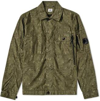 C.P. Company Digi Camo Print Zip Overshirt