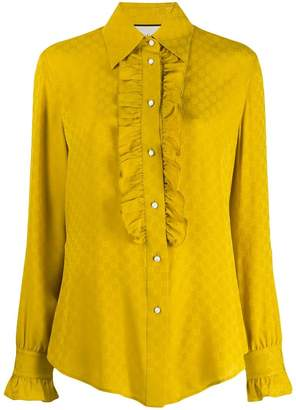 c50a6d91 Gucci Yellow Women's Longsleeve Tops - ShopStyle