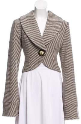 Smythe Wool Stripe Blazer