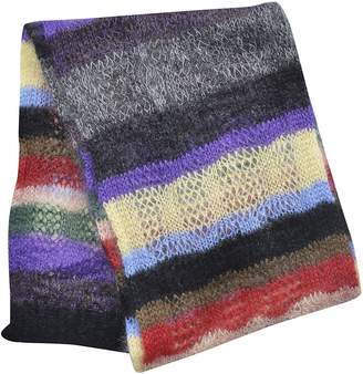 N°21 N.21 Oversized Knitted Scarf