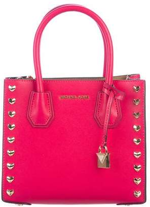 Michael Kors Heart Studded Mercer Bag
