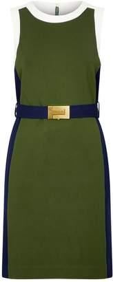 Tory Burch Colour-Block Sheath Dress
