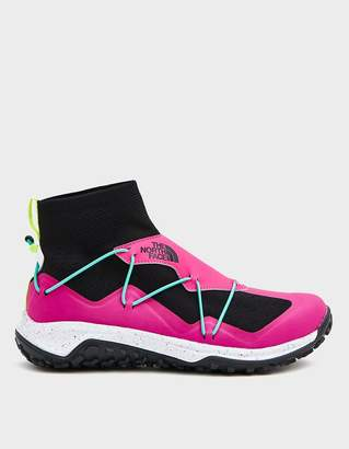 The North Face Black Box 90's Pop SIHL Mid Hiking Sneaker in Pink Glow