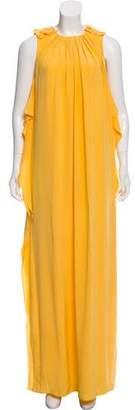 3.1 Phillip Lim Silk Sleeveless Maxi Dress