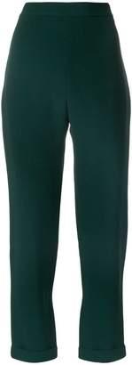 Balmain high-waisted straight trousers