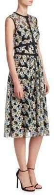 Nanette Lepore Night's Dream Embroidered Dress