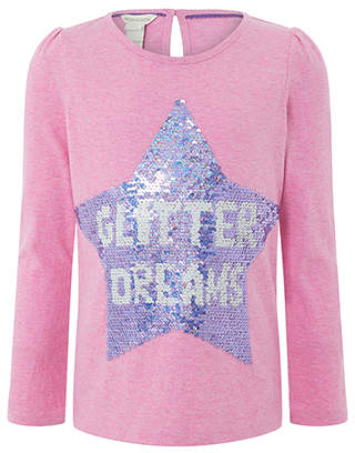 Monsoon Glitter Dreams Reversible Sequin Top