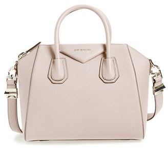 Givenchy 'Small Antigona' Leather Satchel - Beige $2,280 thestylecure.com