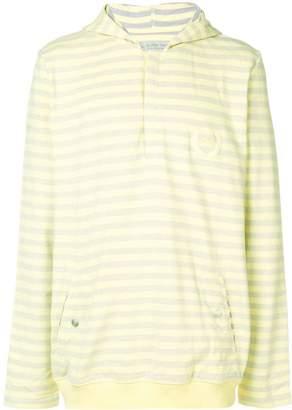 Puma logo striped sweatshirt
