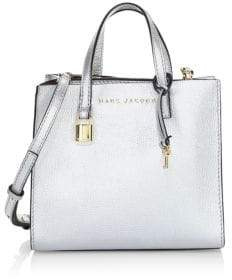Marc Jacobs Mini Grind Leather Satchel Bag