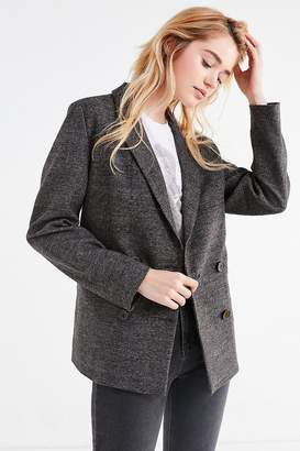 Urban Outfitters Double-Breasted Wool Blazer