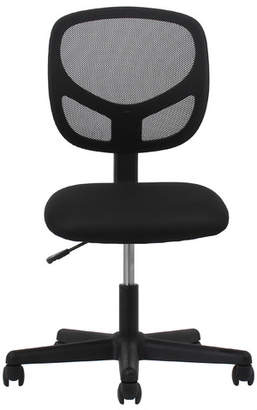 Ebern Designs Bazemore Mesh Desk Chair Arms: Included