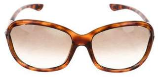 Tom Ford Jennifer Tortoiseshell Sunglasses