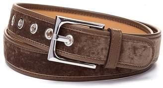 Donald J Pliner FRANNI, Distressed Velvet Belt