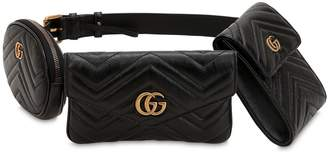 Gucci Gg Marmont Leather Belt Pack