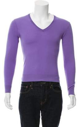 Ralph Lauren Purple Label Cashmere V-Neck Sweater
