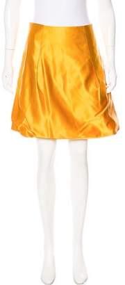 Chloé Silk A-Line Skirt