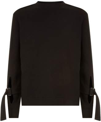 McQ Bondage Sleeve Sweater