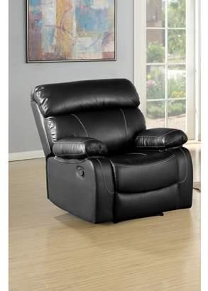 Wilson Genaric black reclining modern recilner
