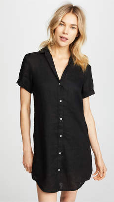 James Perse Side Panel Shirtdress