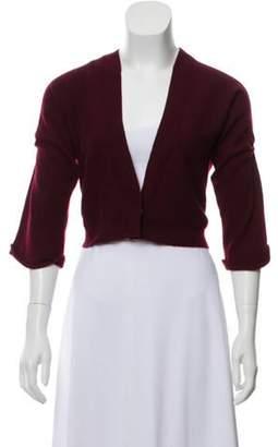Brunello Cucinelli Cropped Cashmere Cardigan Cropped Cashmere Cardigan