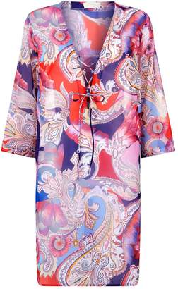 Gottex Paisley Floral Tunic